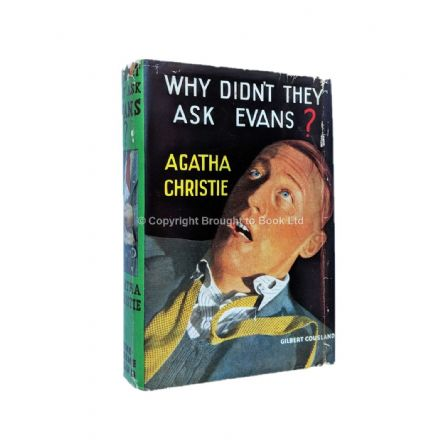 Why Didn't They Ask Evans? by Agatha Christie First Edition The Crime Club by Collins 1934
